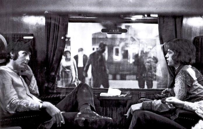 Paul e Jagger